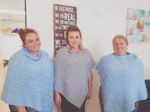 Winter Warming Ponchos for Carers